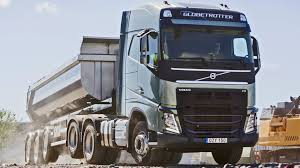 volvo trucks uk volvo trucks tandem axle lift function youtube