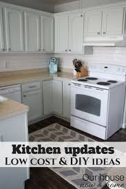 cost of kitchen cabinets for small kitchen improve a small kitchen with small updates and diy ideas