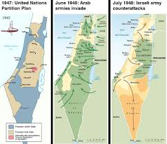 Blank Map Of Israel And Palestine by Historical Maps Of Israel And Palestine