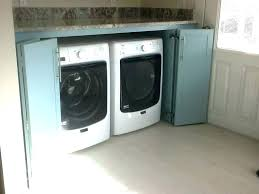 washer and dryer cabinets decoration washer dryer cabinets and cabinet enclosure dimensions