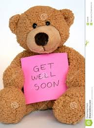 get well soon teddy get well soon teddy picture