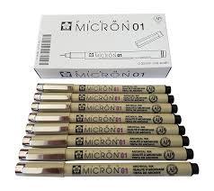 amazon com sakura pigma micron pen 01 black marker felt tip pen
