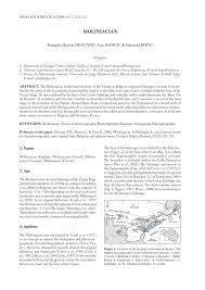 bureau de recherches g logiques et mini es disused paleozoic regional stages from pdf available