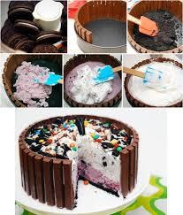 Decorating A Cake At Home 25 Best Kit Kat Cakes Ideas On Pinterest Baked Kitkat Birthday