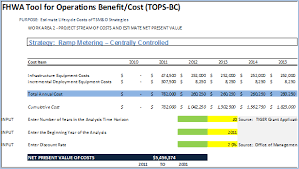 operations benefit cost analysis desk reference chapter 5