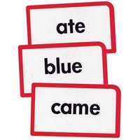 Words Cards Maxiaids Low Vision Braille Flash Cards Sight Words C