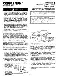 Overhead Door Keypad Programming by Garage How To Program A Craftsman Garage Door Opener Home