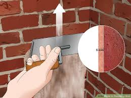 How To Paint A Brick Wall Exterior - 3 ways to render a wall wikihow
