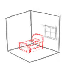 Drawing Of A Bed How To Draw A Room Artprise Ru The Art Of Living The Art Of