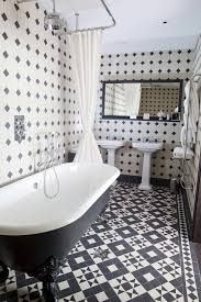 Bathroom Vinyl Floor Tiles Vinyl Flooring Black And White Flooring Design