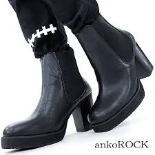 s boots with heels ankorock rakuten global market anoroc smooth