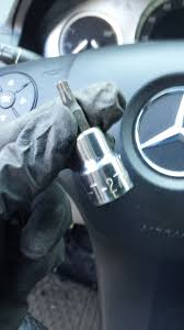 w204 steering wheel lock remove to repair diy mbworld org forums