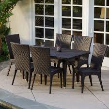 Sorrento Patio Furniture by 6 Person Patio Dining Sets Hayneedle