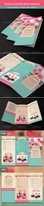 trifold cupcakes menu template menu templates menu and brochures
