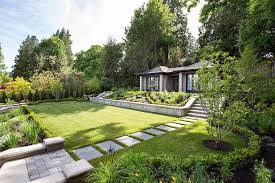 landscaping ideas retaining walls landscape craftsman with curb