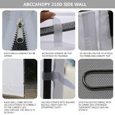 10 X 5 Canopy by Abccanopy 10 U0027 Sun Wall For 10 U0027x 10 U0027 Straight Leg Pop Up Canopy