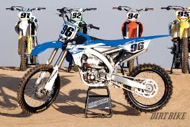 yamaha motocross bikes dirt bike magazine 450 mx shootout how they really rank