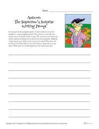 autumn writing prompt the scarecrow u0027s surprise