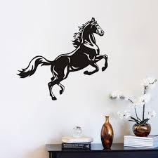 online shop horse jumping wall sticker removable vinyl decals art