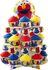 sesame street elmo cake cupcakes supplies candyland crafts