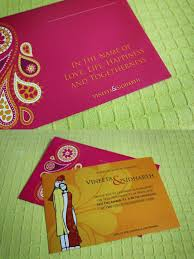 unique indian wedding cards innovative indian wedding cards