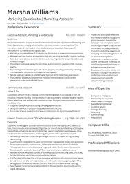 professional marketing resume marketing cv exles and template