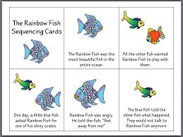 rainbow fish printable