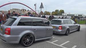 audi rs4 avant b5 with rs4 shaped trailer finally filmed looks