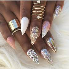 best 25 jewel nails ideas on pinterest navy nail designs blue