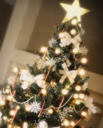 peaceful inspiration ideas tree bows decorations bow