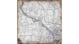 Fallout Vault Map by Fallout 3 Map Youtube