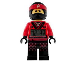 the lego ninjago movie kai minifigure alarm clock 5005367