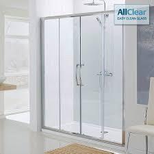 Sliding Shower Door 1200 Lakes Classic Semi Frameless Slider Shower Door 1800mm