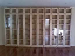 Wall Bookcases With Doors White Bookcase With Glass Doors Colour Story Design Choosing