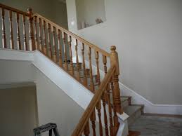 New Banister New House Week 45 Finish Banister Work In Kitchen Youtube