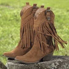 hillside fringed boot horse themed gifts clothing jewelry and