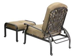 Patio Chairs With Ottomans by Darlee Outdoor Living Standard Elisabeth Cast Aluminum Antique