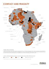 Africa Religion Map by Africa Conflict Map Excellent Color Choices But Use Of
