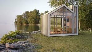 Prefab Cottages Ontario by Traditional Canadian Guest Bunkhouse Goes Prefab With Bunkie Co