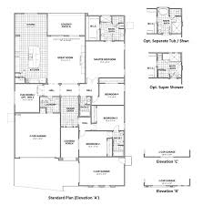 arizona house plans house plan savannah saguaro bloom marana arizona r horton