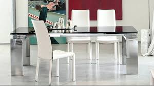 Stainless Steel Dining Table Glass And Steel Dining Table U2013 Mitventures Co