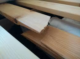 Slat Frame Bed Bedroom How To Fix Bed Slats Home Improvement Stack Exchange