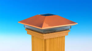Solar Powered Post Cap Lights by High Point Solar Post Cap By Deckorators Youtube