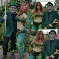 Riddler Halloween Costume Super Realistic Zombie Poison Ivy Zombie Riddler Costumes