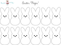 peeps printable holiday printables pinterest easter