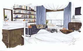 19 best sketches images on pinterest architecture interior