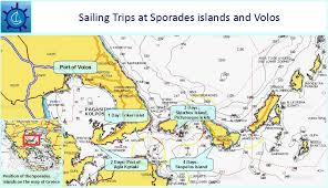 volos map sporades sailing daily and few day sailing cruises from volos