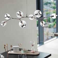 modern glass pendant light nordic dining room kitchen light