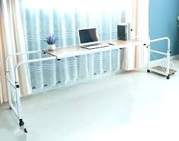 rolling table over bed rolling bed table rolling desk over bed table over bed desk over bed