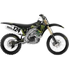 monster motocross birthday effex off road graphic kit monster
